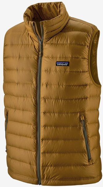 Patagonia Down Sweater Vest - Men's Color: Mulch Brown