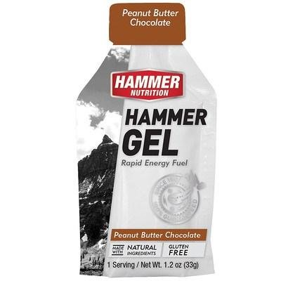 Hammer Nutrition Hammer Gel - Peanut Butter Chocolate - Single Serving (33g)
