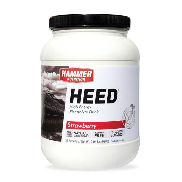 Hammer Nutrition Heed - Strawberry - 32 Servings (928g)