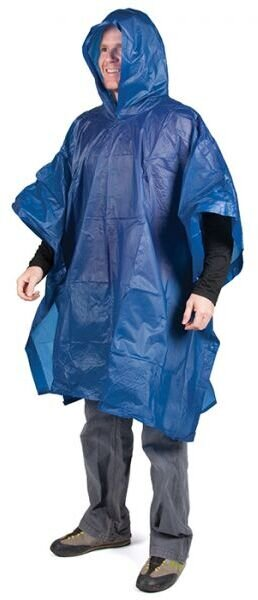 Peregrine Rain Poncho Color: Blue