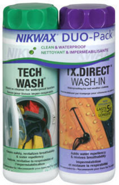 Nikwax Hardshell DuoPack (2x300ml)