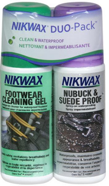 Nikwax Footwear DuoPack Nubuck & Suede (2x125ml)
