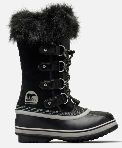 Sorel Joan of Arctic Youth Jr. Color: Black/Oyster
