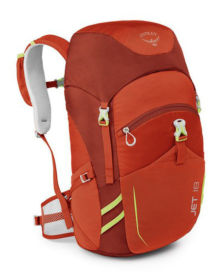 Osprey Jet 18 - Kid's Color: Strawberry Red