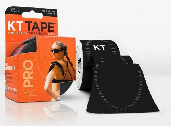 KT Tape Pro Kinesiology Tape Color: Jet Black