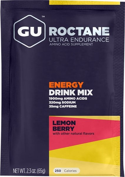 GU Roctane Energy Drink - Lemon Berry (65g)