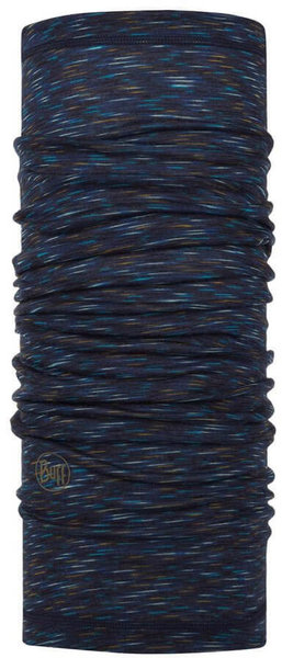 Buff Lightweight Merino Wool Color: DENIM MULTI STRIPES