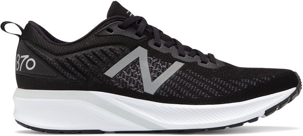 New Balance 870v5 - Men's Color: Black with White & Orca