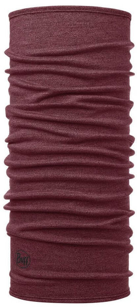 Buff Merino Wool Midweight Color: Wine Melange