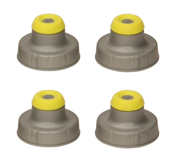 Nathan Push-Pull Caps (4 pack)
