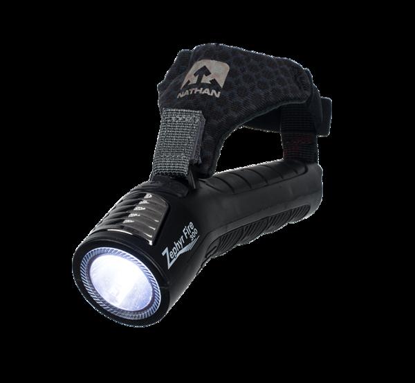 Nathan Zephyr Fire 300 Hand Torch LED Light Black