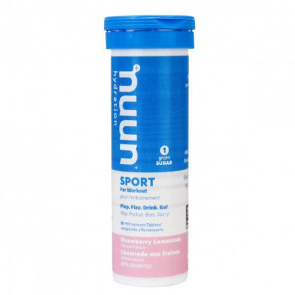 nuun Sport Hydration - Strawberry Lemonade (10 tablets)