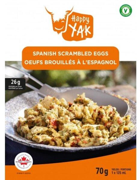Happy Yak Spanish Scrambed Eggs