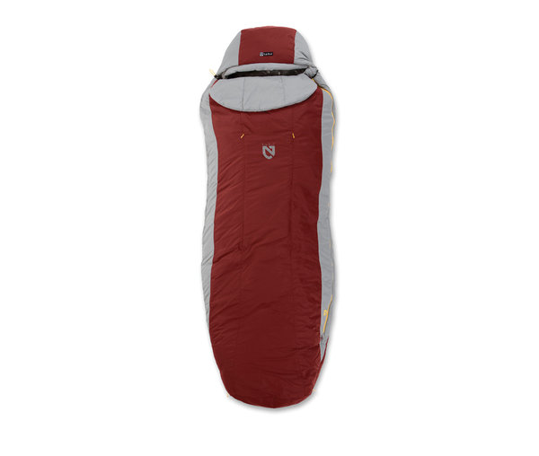 NEMO Forte Synthetic Sleeping Bag (2C/35F) - Men's Color: Woodpecker/Millstone