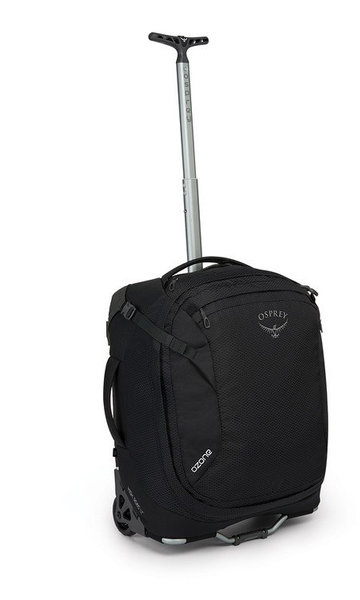 "Osprey Ozone Wheeled Global Carry-On 38L/19.5"" Color: Black"