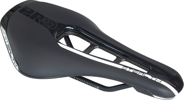 Pro Stealth Saddle - Stainless Rail