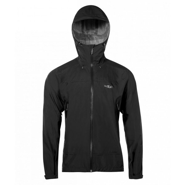 Rab Downpour Plus Jacket - Men's Color: Black