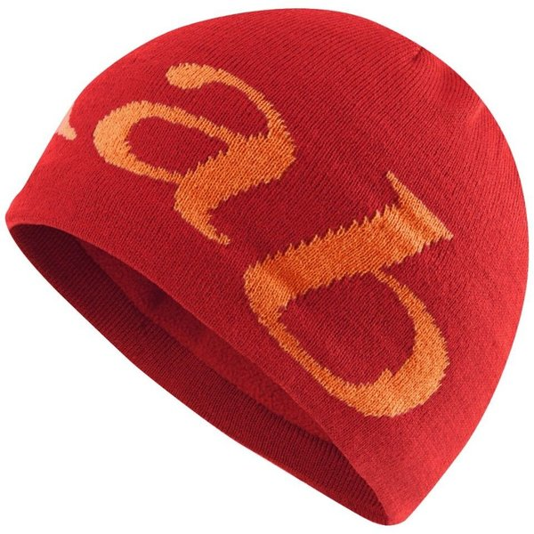 Rab Logo Beanie - Men's Color: Red
