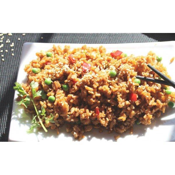 Happy Yak Teryaki Rice (Vegan, lactose free)