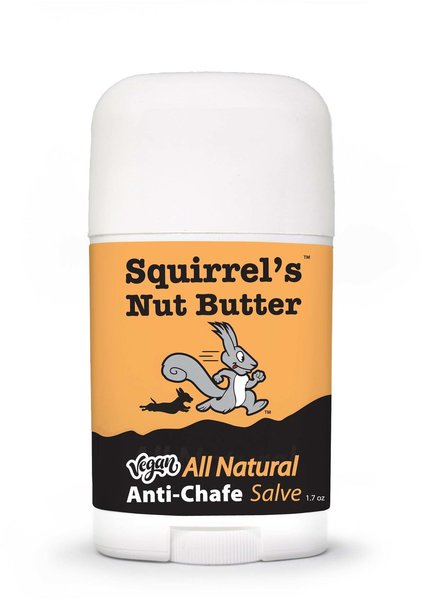 Squirrel's Nut Butter Vegan All Natural Anti-Chafe Salve Stick - 1.7 oz