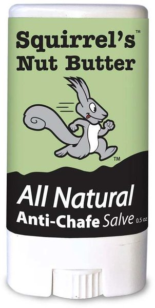 Squirrel's Nut Butter All Natural Anti-Chafe Salve Stick - 0.5 oz