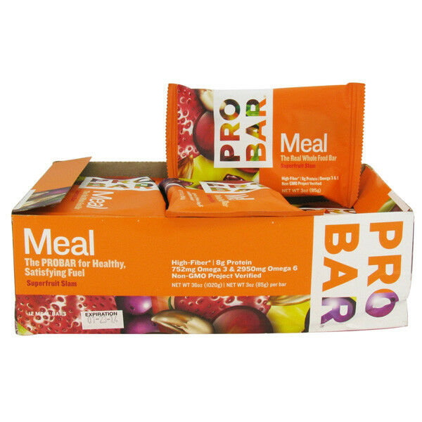 ProBar Simply Real Bar Meal - Superfruit Slam (85g) - Box of 12