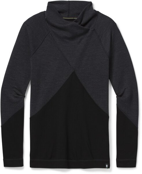 Smartwool Merino 250 Crossover Neck Top - Women's Color: Charcoal Heather