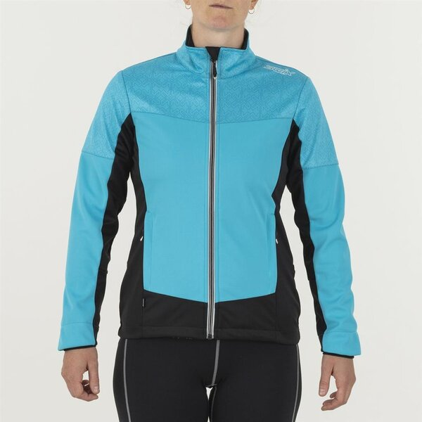 Swix Delda Light Softshell Jacket - Women's Color: Cyan Blue