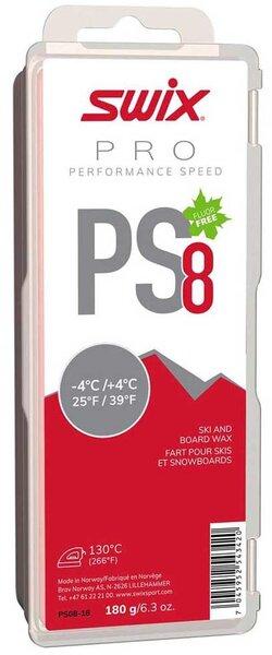 Swix PS8 Red -4°C/+4°C 180G