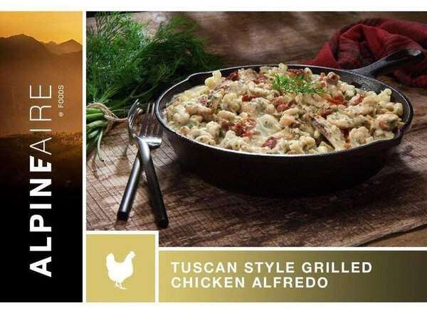 AlpineAire Tuscan Style Grilled Chicken Alfredo