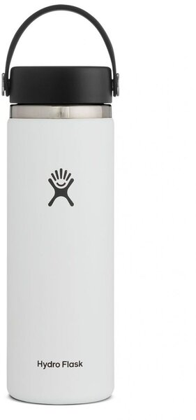 Hydro Flask 20 oz Wide Mouth - White