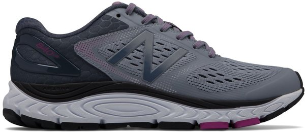 New Balance 840v4 - (Wide Widths Available) - Women's Color: Cyclone with Poisonberry