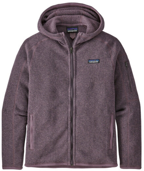 Patagonia Better Sweater Hoody - Women's Color: Hyssop Purple