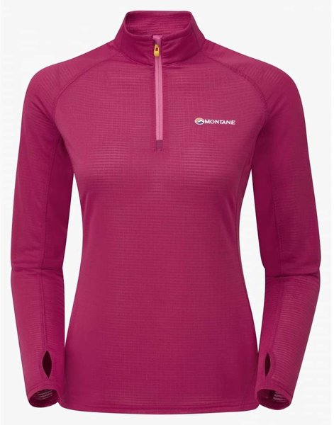 Montane Allez Micro 1/2 Zip - Women's Color: French Berry