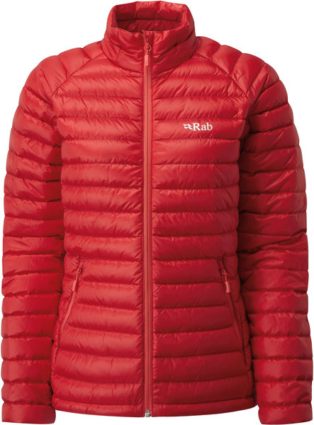 Rab Microlight Jacket - Women's Color: Ruby/Crimson