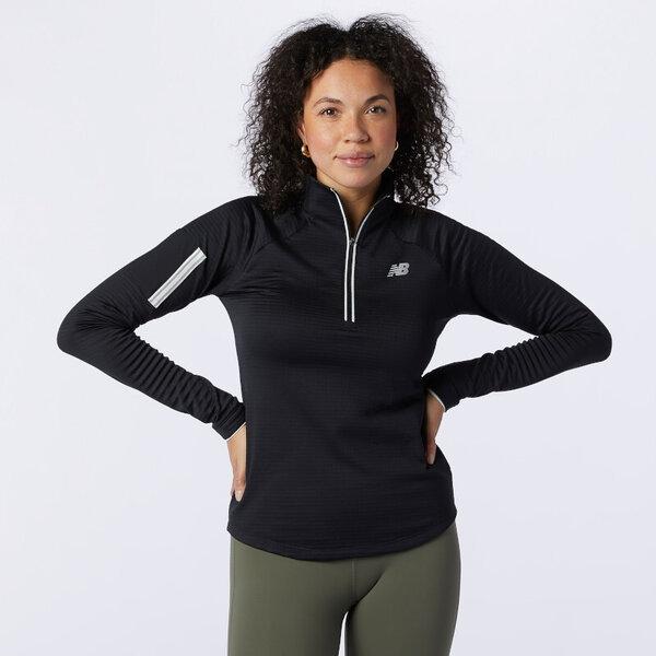 New Balance Heat Grid Half-Zip Shirt - Women's