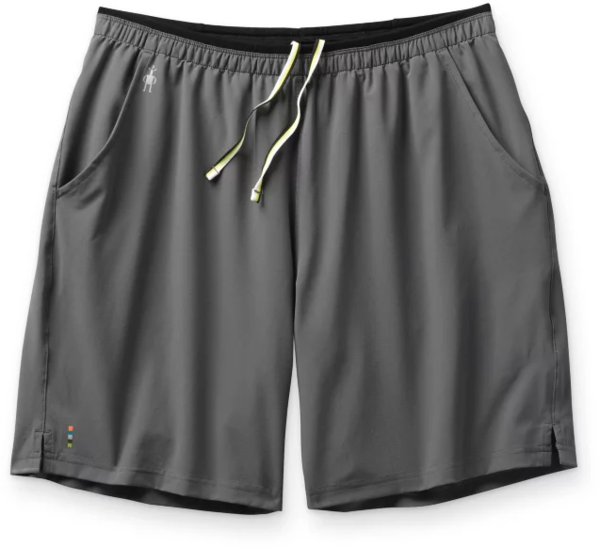 Smartwool Merino Sport Lined 8'' Short Color: Medium Gray