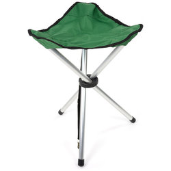 Chinook Trailside Tripod Folding Stool (Aluminum)