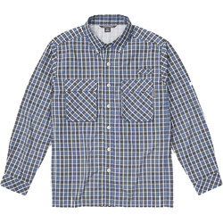 Exofficio Air Strip Check Plaid Long Sleeve Shirt - Men's