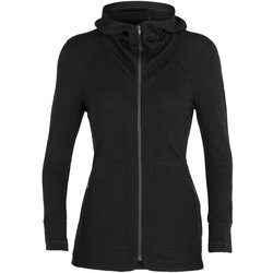 Icebreaker Away ll Long Sleeve Zip Hoody - Women's