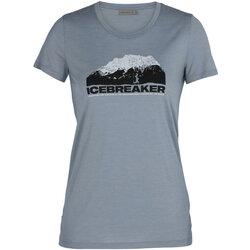 Icebreaker Tech Lite S/S Crewe Icebreaker Mountain - Women's