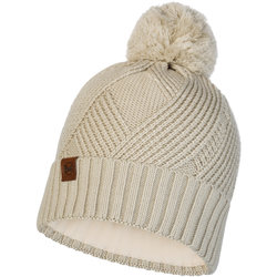 Buff Knitted and Polar Hat