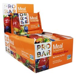 ProBar Simply Real Bar Meal - WholeBerry Blast (85g) - Box of 12