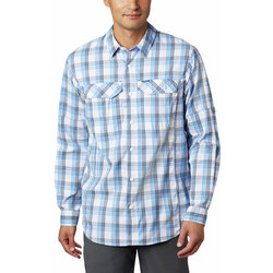 Columbia Silver Ridge Lite Plaid™ Long Sleeve Shirt - Men's
