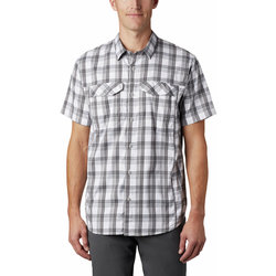 Columbia Silver Ridge Lite Plaid™ Short Sleeve Shirt - Men's