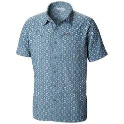 Columbia Pilsner Peak™ II Print Short Sleeve Shirt - Men's