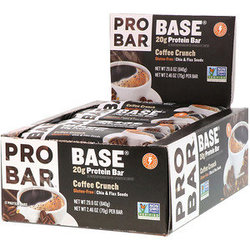 ProBar Base Protein Bar - Coffee Crunch (2.46oz) - Box of 12