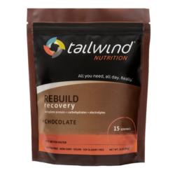 Tailwind Caffeinated Rebuild Recovery Protein - Chocolate - 15 Servings (911g)