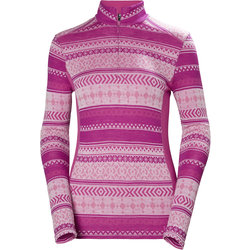 Helly Hansen Merino Mid Graphic 1/2 Zip - Women's
