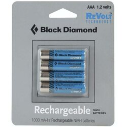 Black Diamond AAA Rechargeable 4-Pack